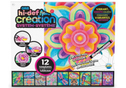 Orb Hi-Def Creation System Jungle Kingdom Templates, 12 verschieden Dschungel- und Naturmalvorlagen