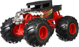 Mattel GCX15 Hot Wheels Monster Trucks 1:24 Die-Cast Bone Shaker