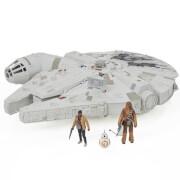 Hasbro Star Wars E7 Battle-Action Millennium Falke