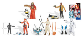 Hasbro Star Wars E7 Basisfiguren (Schnee/Wüste)