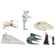 Hasbro Star Wars E7 Micro Machines Fahrzeug Multi-Pack