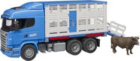 Bruder 03549 Scania R-Serie Tiertransport-LKW