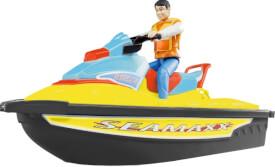 Bruder 09042 Personal Watercraf mit Fahrer Summer Edition