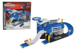 Majorette Creatix Polizei Station + 1 Car