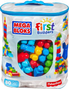 Mattel Mega Bloks First Builders Bausteinebeutel Large 80 Teile