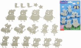 Simba Peppa Pig Glow in the dark Set