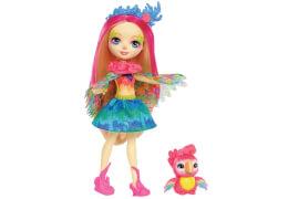 Mattel FJJ21 Enchantimals Papageienmädchen Peeki Parr