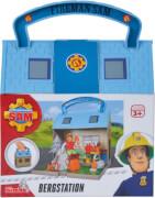 Simba Feuerwehrmann Sam - Bergrettungszentrum inkl. 2 Figuren, ca. 25x17x9 cm, ab 3 Jahre