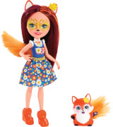Mattel FXM71 Enchantimals Felicity Fox & Flick