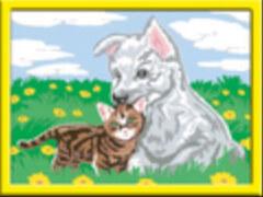 Ravensburger 28487 Malen nach Zahlen Süße Tierkinder