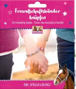 Freundschaftsbänder knüpfen Pferdefreunde