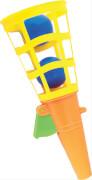 SpielMaus Fangbecher mit 2 Bällen, farblich sortiert