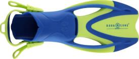 Flosse Zinger junior, Größe S, bright green/light blue