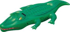 Reittier Krokodil ca. 203x117 cm