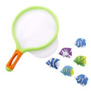 Splash & Fun Kescherspiel mit Fischen, 6 Stück