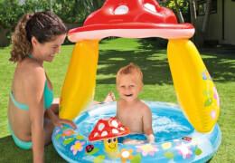 Baby Pool Pilz, ca. Ø102x89cm