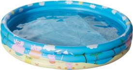 Happy People 16262 Peppa Pig 3-Ring-Pool, aufgeblasen ca. 150x25 cm,