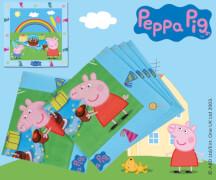 Peppa Pig Servietten 33x33 cm 20 Stück